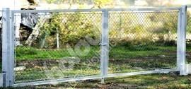 Brána exkluziv, zavírání záklapkou, pozinkovaná.