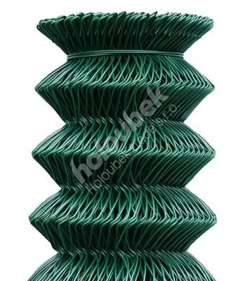 Pletivo pozinkované poplastované 2000mm 50x50 1,7/2,6 bez napínacieho drôtu - Pletivo pozinkované poplastované 2000 mm 50x50 1,7/2,6 bez napínacího drátu