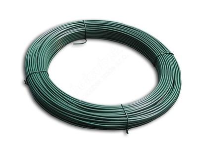 Napínací drôt poplastovaný 2,5/3,5 mm, zvitok 52 m - Napínací drát poplastovaný 2,5/3,5 mm, svitek 52 m