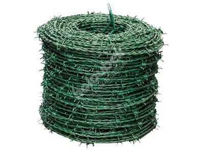 Ostnatý drôt poplastovaný 250 bm - Ostnatý drát poplastovaný 250 m