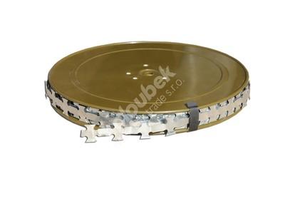 Žiletkový drôt 1,9 cm 10 bm - Žiletkový drát 1,9 cm 10 bm