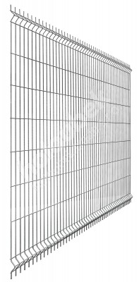 Plotový panel Nylofor 3D pozinkovaný Strong 1230x2500 mm - Plotový panel Nylofor 3D ZN 1230x2500 mm