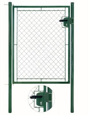 Bránka jednokrídlové záhradné výška 125 x 100 cm zelená na FAB - Branka jednokřídlá zahradní výška 125 x 100 cm zelená na FAB