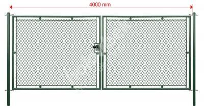 Brána STANDARD XL 100 x šírka 400 cm systém FAB - Brána STANDARD XL 100 x šířka 400 cm systém FAB