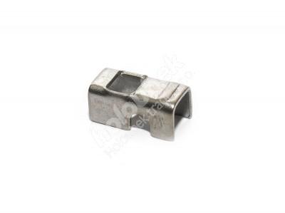 Hliníková príchytka - kopie - kopie - Příchytka panelu nerezová (ke konstrukci brány) nižší