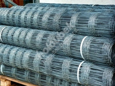 Lesnícke uzlové pozinkované pletivo 1600 mm, hr. 2x2,8 mm 15 drôtov - Lesnické uzlové pozinkované pletivo 1600 mm, tl. 2x2,8 mm 15 drátů, bal. 50 bm