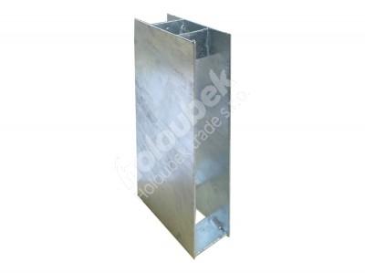 Pätka železná priebežná 150x300 mm - Patka železná průbežná 150x300 mm