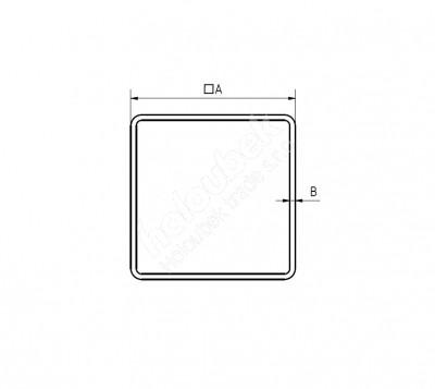 sk Jekl 60x40x1,5 mm Z275, 2000 mm - kopie - kopie - Jekl 60x60x2 mm Z275, 2500 mm