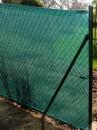 Tieniaca tkanina - zatienenie 90% výška 125 cm - role 10 bm