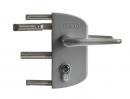 Zámok nerez mechanizmus LAKZ P1 sivý RAL 7040