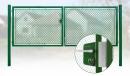 Brána záhradné dvojkrídlové výška 100 x 400 cm zelená na FAB Exklusiv