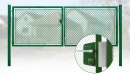 Brána záhradné dvojkrídlové výška 150 x 400 cm zelená na FAB Exklusiv