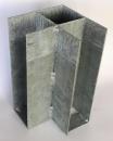 Pätka železná rohová 150x200 mm