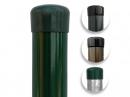 Plotový stĺpik zelený priemer 48 mm, výška 300 cm