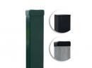 Plotový stĺpik poplastovaný 60x40 mm antracit výška 250cm - kopie