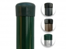 Plotový stĺpik zelený priemer 48 mm, výška 250 cm - kopie